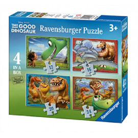 PUZZLE 4 IN A BOX THE GOOD DINOSAUR
