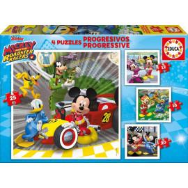 PUZZLES PROGRESIVOS MICKEY SUPERPILOTOS