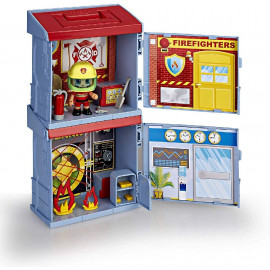 PINYPON ACTION. 2 MIXOPOLIS BOXES. BOMBEROS