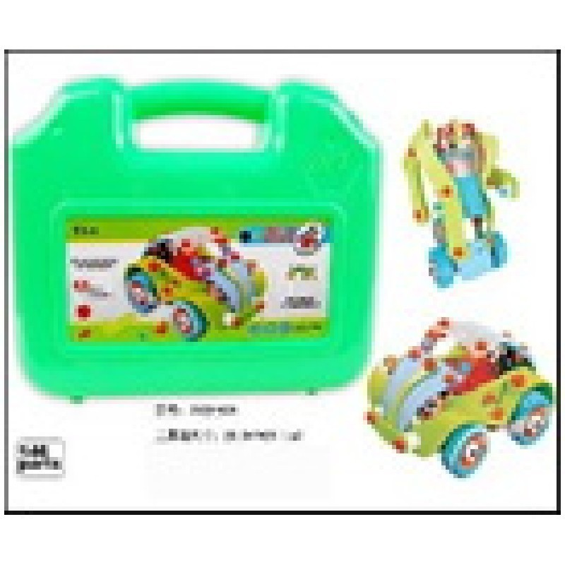 Maletín Verde, Construye 2 Vehiculos Infantiles