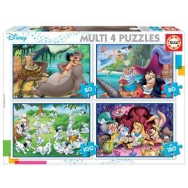 MULTI 4 PUZZLES CLASICOS...