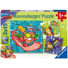 SUPERZINGS - PUZZLE 3X49 PIEZAS.