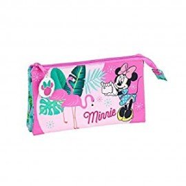 "Minnie Mouse ""Palms"", Estuche, Portatodo Triple"
