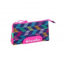 BENETTON - PORTATODO TRIPLE