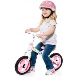 Bicicleta Infantil, sin Pedales Rosa