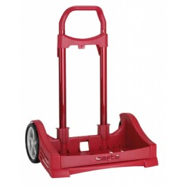 Carro Portamochila Evolution Color Rojo
