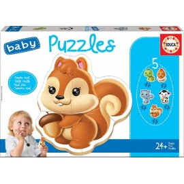 BABY PUZZLES ANIMALES