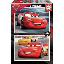 CARS 3 - PUZZLE 2X 48 PIEZAS