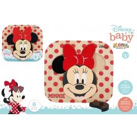 Puzzle Madera 22x20 Cms., Disney Baby