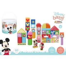 Bote, 40 Blocks de Madera, Mickey y Minnie