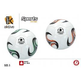 Balón Futbol, Aktive de 5 Capas, 360x380 Gramos.