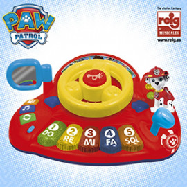 ACTIVITY PIANO C/FIGURA PAW PATROL