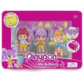 PINYPON PACK 4 FIGURAS NIEVE