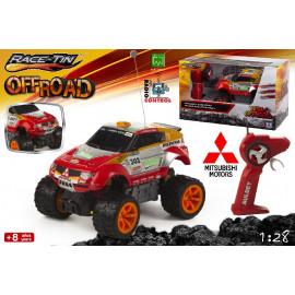 Coche Radio Control, Mitsubishi Pajero Dakar, Escala 1:28