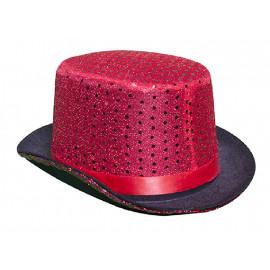 Sombrero Copa, Lentejuelas, 4 Modelos Surtidos