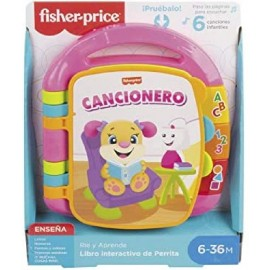 FISHER PRICE LIBRO APRENDIZAJE ROSA