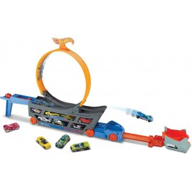 HOT WHEELS - CAMION LOOPING + 1 COCHE
