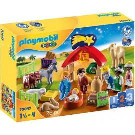 Belen y Reyes Magos de Playmobil 1.2.3