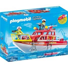 Barco de Rescate de Playmobil