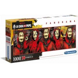 PUZZLE 1000  PZAS. PANORAMA CASA PAPEL