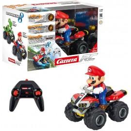 Quad Radio Control Mario Kart 8, 1:20 con Bateria y Cargador