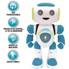 Robot Powerman JR, con Quiz, Musica y Sonidos.