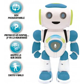 ROBOT POWERMAN JR. C/QUIZ, MUSICA Y JUEGOS