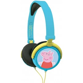 PEPPA PIG - CASCO ESTEREO PLEGABLE