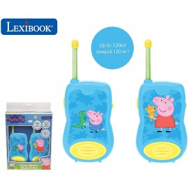 PEPPA PIG - WALKIE TALKIE 120 M.