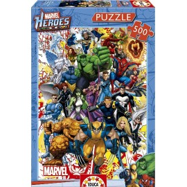 HEROES MARVEL - PUZZLE 500 PIEZAS