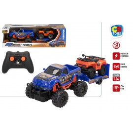 COCHE RADIO CONTROL 1:24 EXPEDICION SURVEYOR