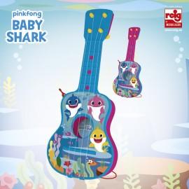 BABY SHARK - GUITARRA 4 CUERDAS CON ESTUCHE