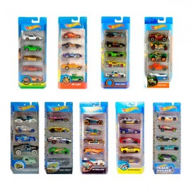 HOT WHEELS PACK 5 COCHES