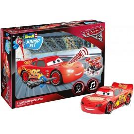 Cars. Coche Junior Kit, Lightning Mcqueen