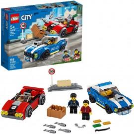 LEGO CITY - POLICIA ARRESTO EN LA AUTOPISTA