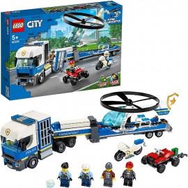 LEGO CITY - POLICIA CAMION DE TRANSPORTE DEL HEL.