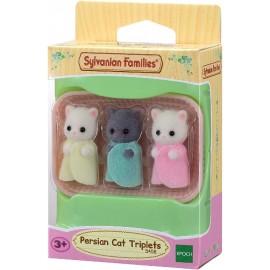 Sylvanian Familie - PERSIAN CAT TRIPLETS