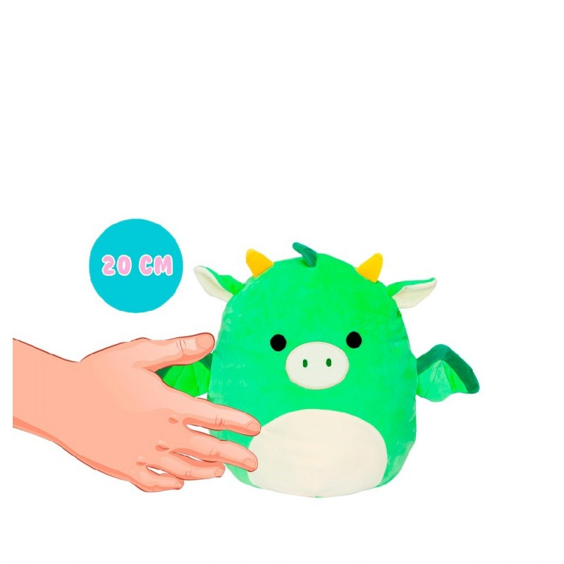 PELUCHES SQUISHMALLOWS 20 CMS. SURTIDO.