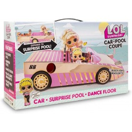 L.O.L. SURPRISE - CAR POOL COUPE CON MUÑECA EXCLUS