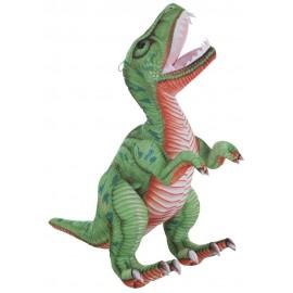 Dinosaurio de peluche T-REX verde de  60 CMS.