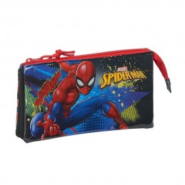 Spiderman, Estuche, Portatodo Triple
