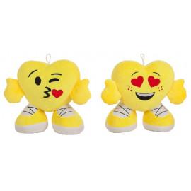 Peluche Corazón Multizapatones de 42 Cms.