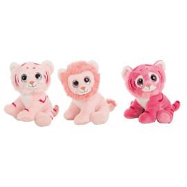 León y Tigre Peluches Rosa Surtidos.