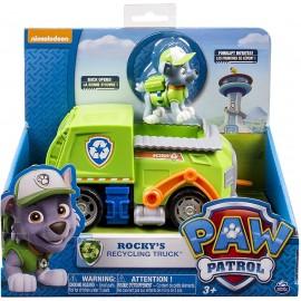 Paw patrol  - Camión Basura Reciclaje Rocky