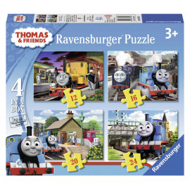 PUZZLE THOMAS FRIENDS 4 IN BOX.