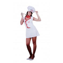 Disfraz La Chef del Amor, Adulto