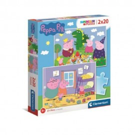PEPPA PIG - PUZZLE 2X20...
