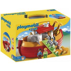 1.2.3. Arca de Noe Maletin de Playmobil