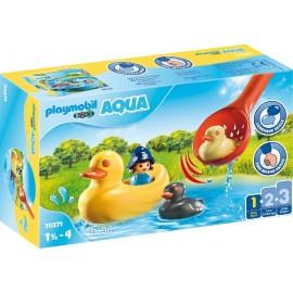Familia de Patos de Playmobil 1.2.3.