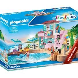 Heladería en el Puerto de Playmobil